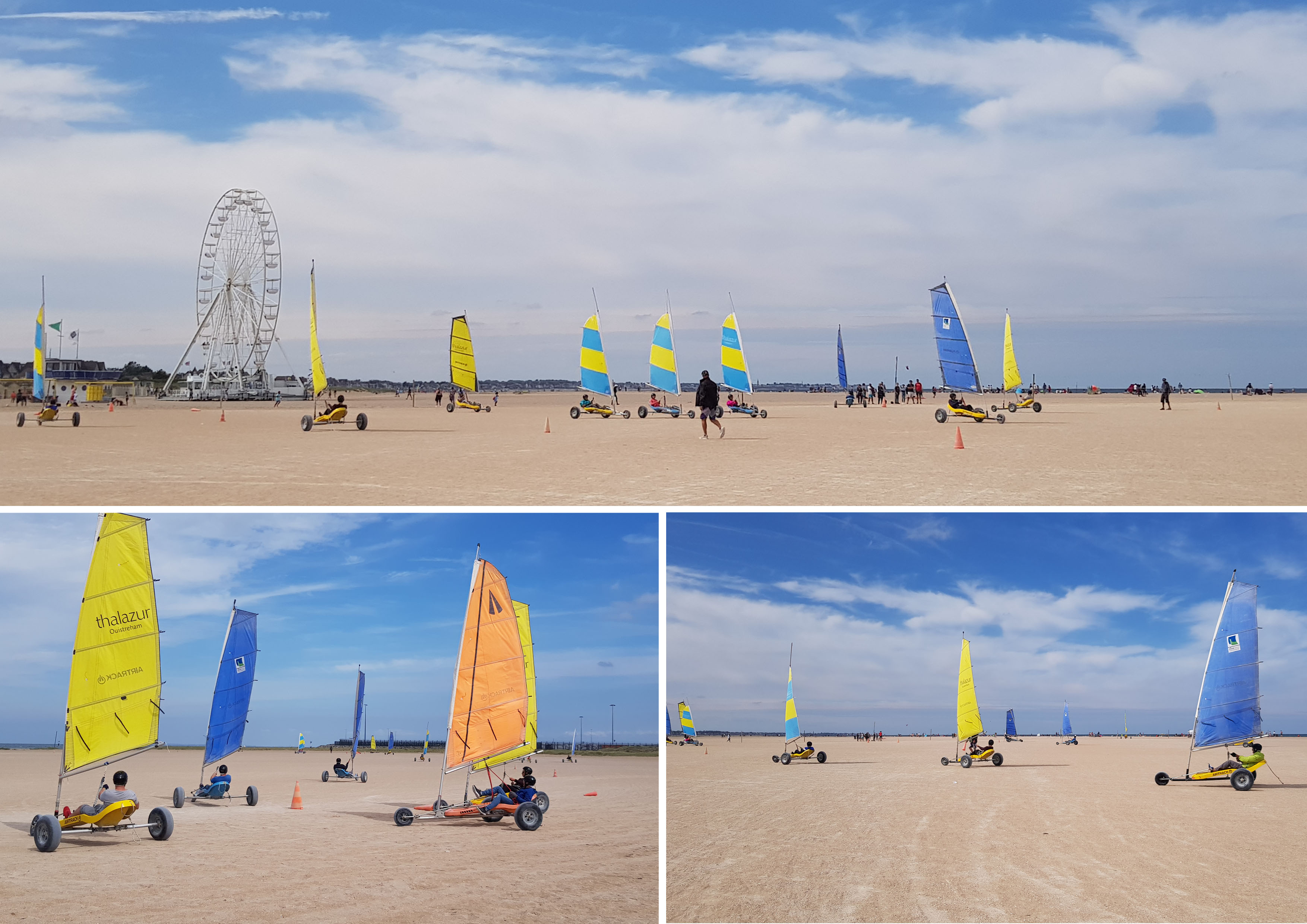 Sortie Chars A Voile A Ouistreham Sogeti